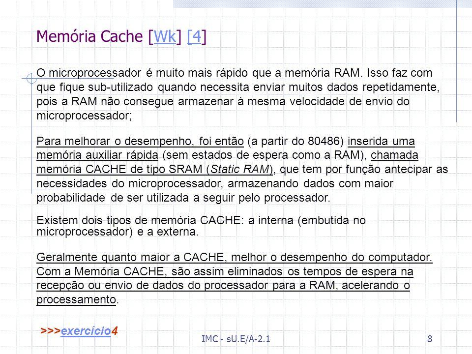 Memória Cache [Wk] [4]